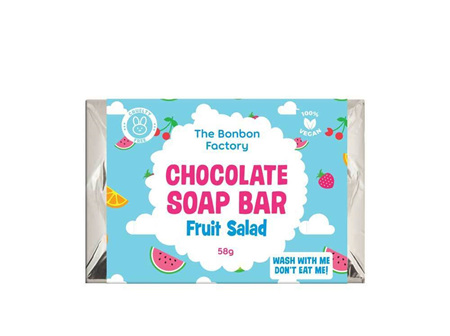 Fruit Salad Chocolate Soap Bar