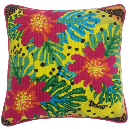 Fruit Salad Cushion by Tess Norquay