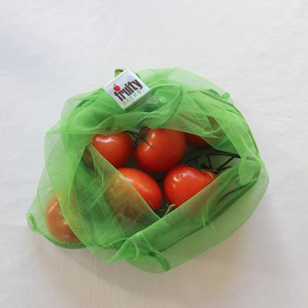 Fruity Sacks - Green Mesh Bags (3)