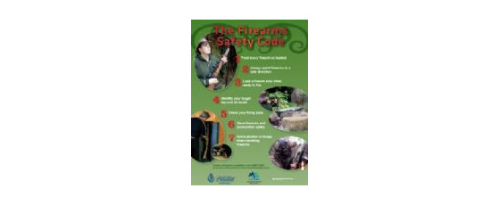 FSCENGA4 - Firearms Safety Code (A4 English)