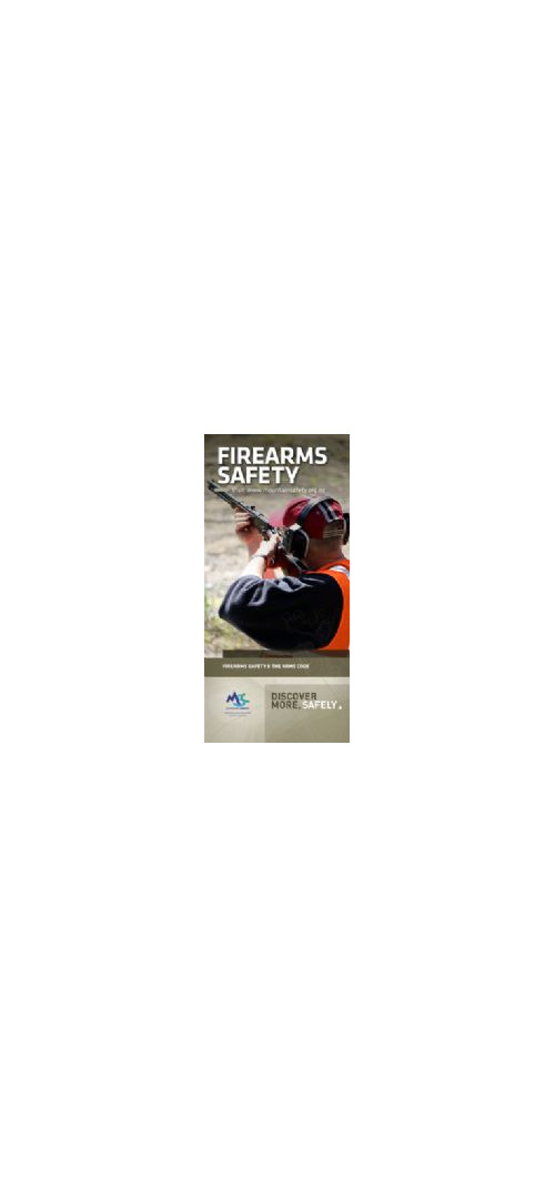 FSP - Firearms Safety Pamphlet