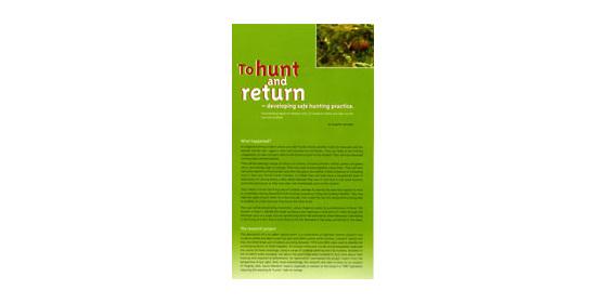 FSTHR - Firearms Safety - To Hunt & Return