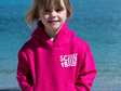 Fuchsia Pink Kids' Hoodie - Pullover