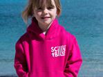 Fuchsia Pink Kids' Hoodie - Pullover