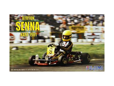 Fujimi 1/20 Ayrton Senna Kart 1981