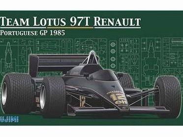 Fujimi 1/20 Lotus 97T Portuguese GP