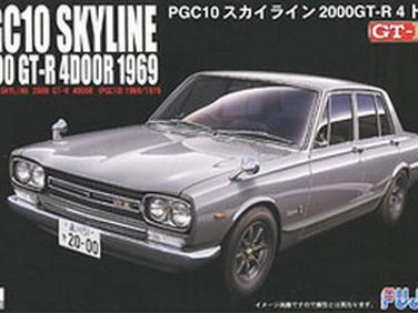 Fujimi 1/24 03858 Nissan Skyline GT-R 4Dr. (PGC10) 1969