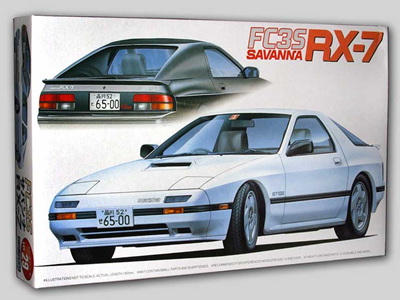 Fujimi 1/24 03889 Mazda Savanna RX-7 FC3S 1985