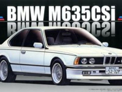 Fujimi 1/24 12650 BMW M635Csi