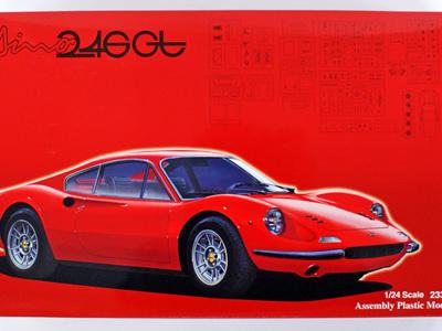 Fujimi 1/24 Ferrari Dino 246GT