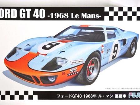 Fujimi 1/24 Ford GT40 1968 Le Mans