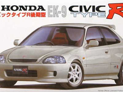 Fujimi 1/24 Honda Civic Type R EK-9