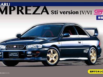 Fujimi 1/24 ID-99 Subaru Impreza WRX Type R Sti Version IV/VI