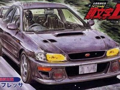 Fujimi 1/24 Initial D No.18 Subaru Impreza 2 Door Hard Top