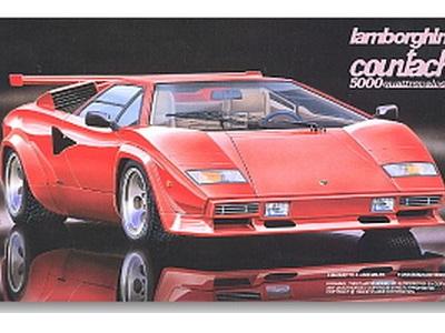 Fujimi 1/24 Lamborghini Countach 5000 Quattrovalvole