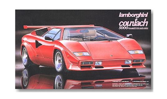 Fujimi 1 24 Lamborghini Countach 5000 Quattrovalvole Rick S Model Kits