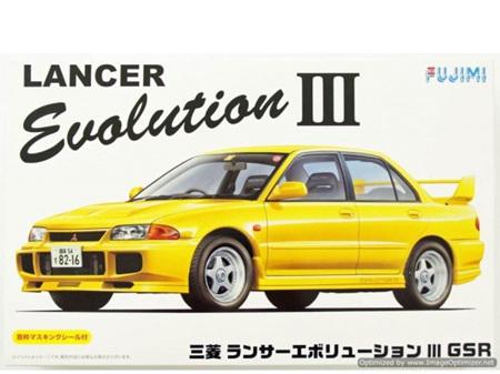 Fujimi 1/24 Mitsubishi Lancer Evolution III GSR
