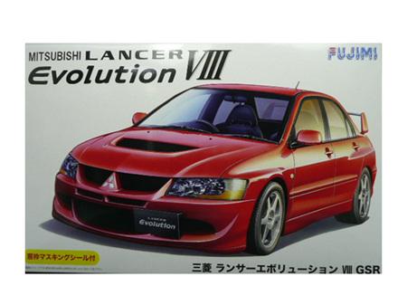 Fujimi 1/24 Mitsubishi Lancer Evolution VIII (2003)
