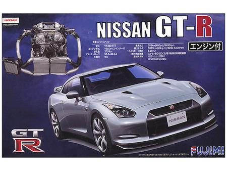 Fujimi 1/24 Nissan GT-R (R35) w/ engine