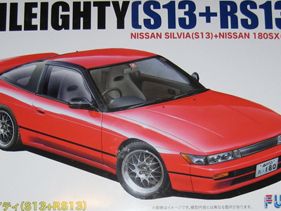 Fujimi 1/24 Nissan New Sileighty S13 + RS13