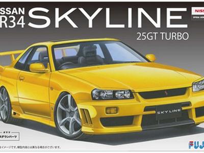 Fujimi 1/24 Nissan Skyline R34 25GT Turbo
