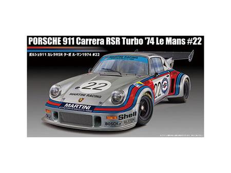 Fujimi 1/24 Porsche 911 Carrera RSR Turbo 74 Le Mans