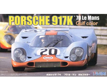 Fujimi 1/24 Porsche 917K 1970 Le Mans 20 - Gulf Colours