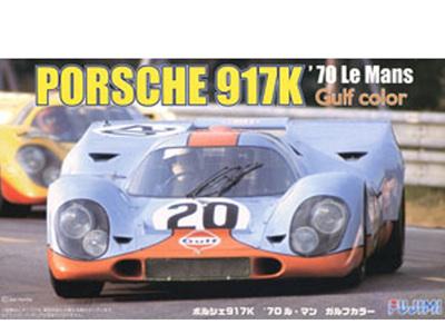 Fujimi 1:24 Porsche 917K 1970 Le Mans 20 - Gulf Colours