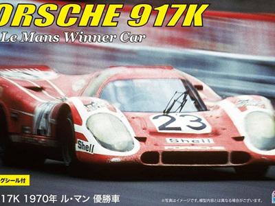 Fujimi 1/24 Porsche 917K 1970 Le Mans Winner