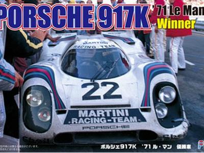 Fujimi 1/24 Porsche 917K 1971 Le Mans Winner