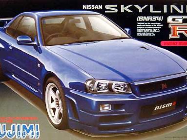 Fujimi  1/24 Skyline GT-R (R34) NISMO