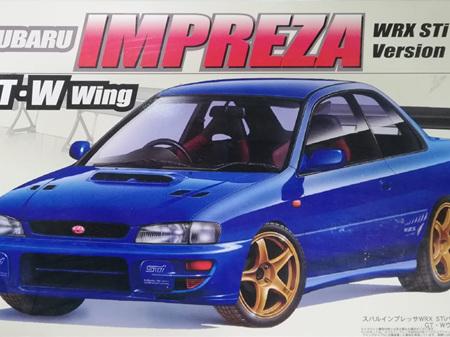 Fujimi 1/24 Subaru Impreza WRX STi Version VI GT-W Wing