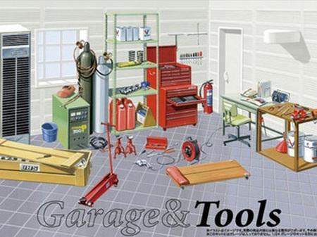 Fujimi 1/24 Tools
