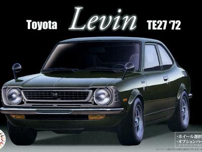 Fujimi 1/24 Toyota Levin TE27 '72
