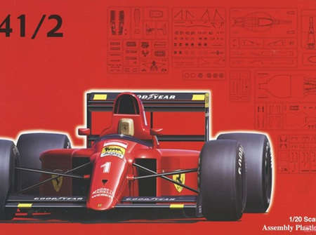 Fujimi 1/20 Ferrari 641/2 (TAM092140)