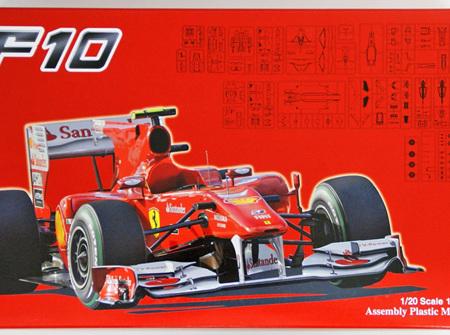 Fujimi 1/20 Ferrari F10 (FUJ092041)