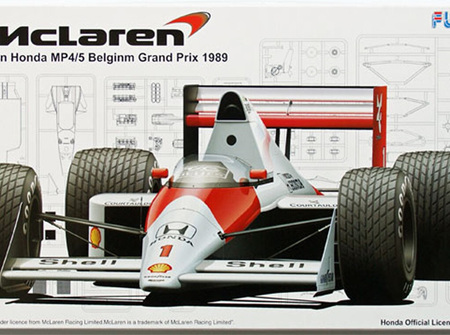 Fujimi 1/20 McLaren MP4/5 Belgium GP 1989 (FUJ090665)