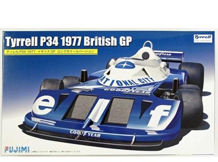 Fujimi 1/20 Tyrrell P34 1977 British GP (FUJ091914)