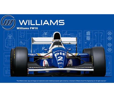 Fujimi 1/20 Williams FW16 Renault (FUJ09212)