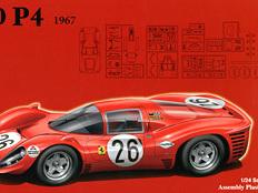 Fujimi 1/24 Ferrari 330 P4