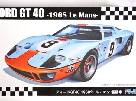 Fujimi 1/24 Ford GT40 1968 Le Mans (FUJ12605)