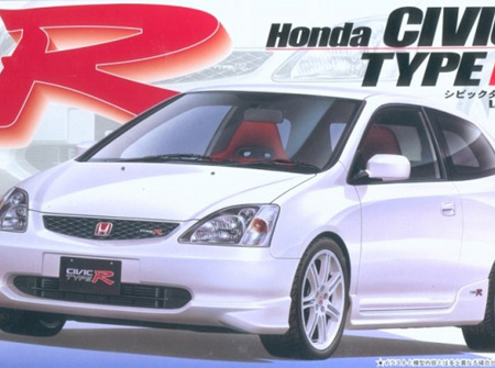 Fujimi 1/24 Honda Civic Type R '01