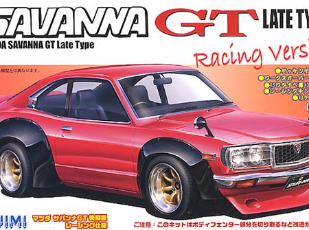 Fujimi 1/24 Mazda Savanna RX3 GT Late Type Racing Version (FUJ037691)