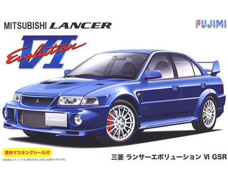 Fujimi 1/24 Mitsubishi Lancer Evo VI
