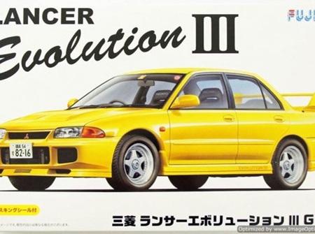 Fujimi 1/24 Mitsubishi Lancer Evolution III (FUJ039176)