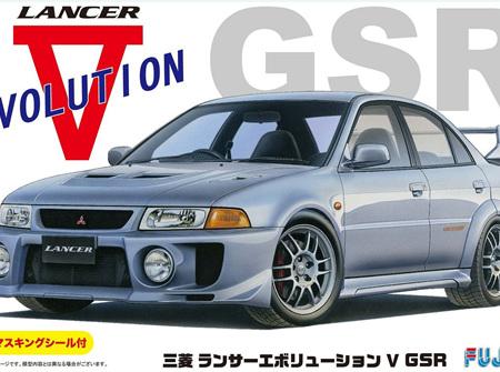 Fujimi 1/24 Mitsubishi Lancer Evolution V (FUJ039190)
