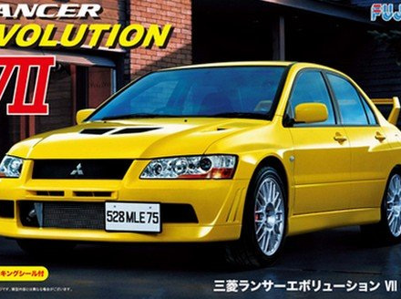 Fujimi 1/24 Mitsubishi Lancer Evolution VII GSR