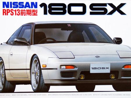 Fujimi 1/24 Nissan 180SX (RPS13) '96
