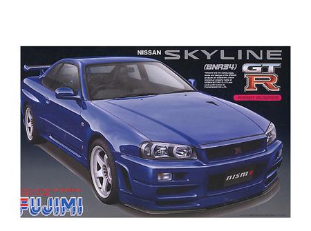 Fujimi 1/24 Nissan Skyline GT-R (BNR34) Nismo (FUJ037035)