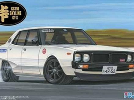 Fujimi 1/24 Nissan Skyline GT-X (GC110) Kenmary